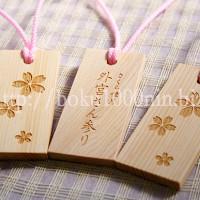 ヒノキの祭札